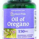 Oil of Oregano Extract 150mg 90 Softgels Gluten Dairy Free Natural Capsules 1500
