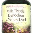 180 Capsule Milk Thistle, Dandelion, Yellow Dock, 4:1 Extract Combo Complex Pill