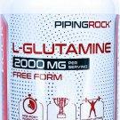 2000mg L-Glutamine Free Form 240 Capsules BCAA Amino Acid Dietary Supplement