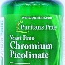 500mg Chromium Picolinate 100 Vegetarian Tablets Yeast Free Dietary Supplement
