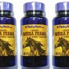 3 Bottles 1100mg Muira Puama 90/270 Capsules 4:1 Root Extract