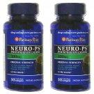 2 Bottles Neuro PS 100mg Phosphatidylserine Softgels Brain Memory Support