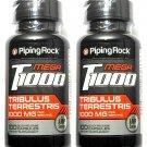 2 Bottles 1000mg Tribulus Extract 100/200 Capsules 20% Saponins T1000