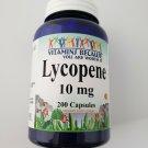 Vitamins Because Lycopene 10 mg 200 Capsules