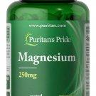 Puritan's Pride Magnesium 250 mg 200 Coated Caplets