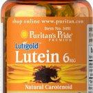 Puritan's Pride Lutein 6 mg with Zeaxanthin 100 Rapid Release Softgels