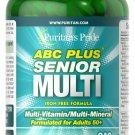 Puritan's Pride ABC Plus Senior Multivitamin Multi-Mineral Formula 240 Caplets