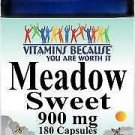 Vitamins Because Meadow Sweet 900mg 180 Capsules