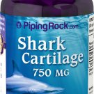 Piping Rock Shark Cartilage 750 mg 150 Quick Release Capsules