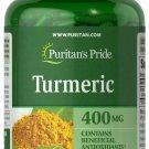 Puritan's Pride Turmeric 400 mg 200 Rapid Release Capsules