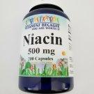 Vitamins Because Niacin 500 mg 200 Capsules