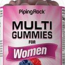 Piping Rock Multi Gummies for Women Natural Berry 100 Gummies