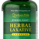 Puritan's Pride Herbal Laxative 250 Rapid Release Capsules