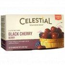 Celestial Seasonings Black Cherry Berry Herbal Tea - Caffeine Free 20 Bag(S).