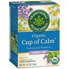 Traditional Medicinals Organic Cup of Calm Tea - Lavender Mint 16 Bag(S).