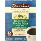 Teeccino Roasted Herbal Tea - Dandelion Mocha Mint 10 Bag(S).