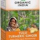 Organic India Tulsi Turmeric Ginger Tea 18 Bag(S).