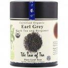 The Tao Of Tea Earl Grey Black Tea and Bergamot 3.5 oz Can.