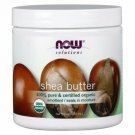 NOW Foods Organic Shea Butter 7 fl oz Solid Oil.