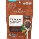 Navitas Organics Organic Cacao Sweet Nibs 4 oz Pkg.