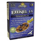 Food For Life Ezekiel 4:9 Sprouted Grain Crunchy Cereal - Golden Flax 16 oz Box.