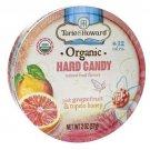 Torie & Howard Organic Hard Candy - Pink Grapefruit & Tupelo Honey 2 oz Pkg.