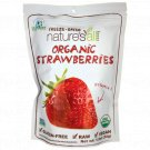Nature's All Foods Organic Freeze Dried Strawberries 1.2 oz Pkg.