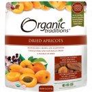 Organic Traditions Dried Apricots 8 oz Pkg.