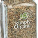 Simply Organic Lemon Pepper 3.17 oz Jar.