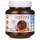 Nutiva Organic Hazelnut Spread with Cocoa - Classic 13 oz Jar.