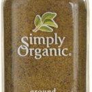 Simply Organic Ground Nutmeg 2.30 oz Jar.