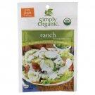 Simply Organic Ranch Dressing Mix 1.00 oz Pkg.