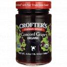 Crofter's Premium Spread - Organic Concord Grape 16.5 oz Jar.