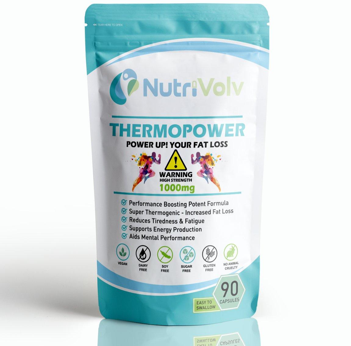 ThermoPower 1000mg - Thermogenic T5 FAT LOSS DETONATOR Green Tea Keto Formula