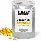 Vitamin D3 10000iu Softgels NOT Tablets - 120 240 360 - Immune Support - UK Made
