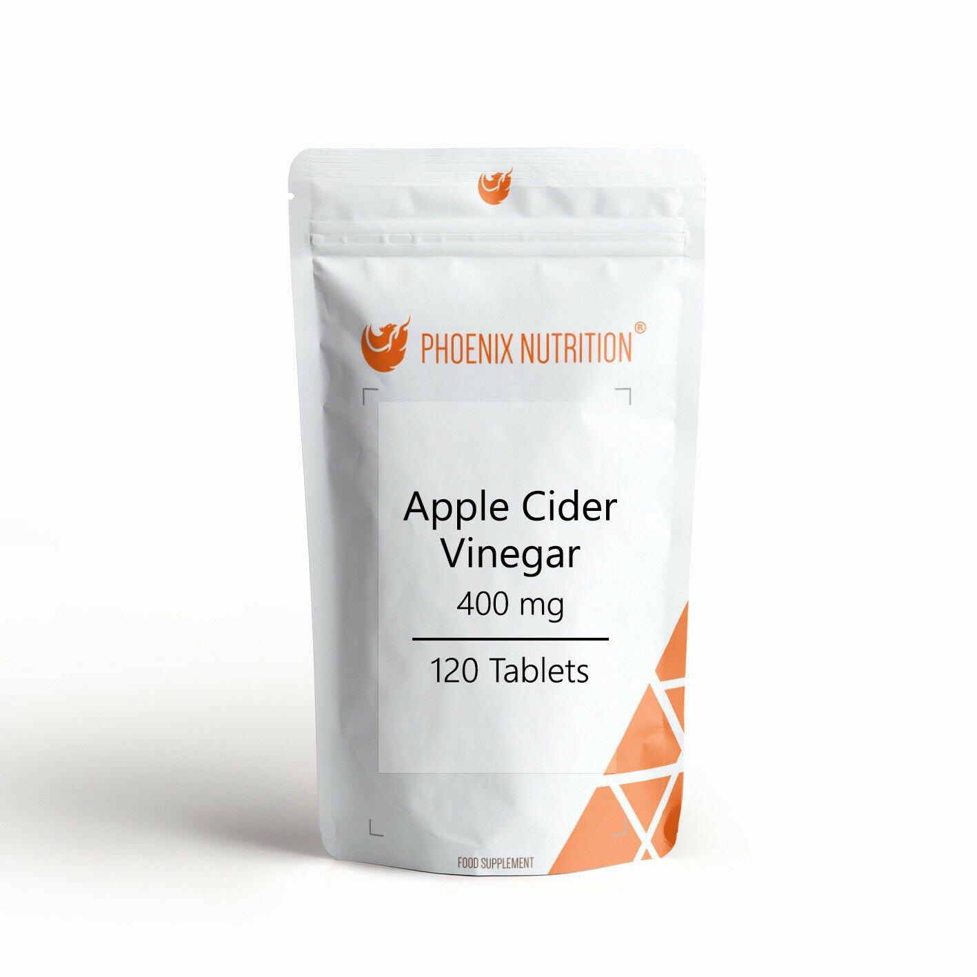 Apple Cider Vinegar | 400mg x 120 Tablets | UK Made