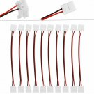 10 X 10mm PCB Connector Adapter for 3528 5050 Single Color LED light to Strip