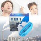 Silicone Anti Snore Device Nasal Dilators Apnea Aid Stop Snoring Nose Clip