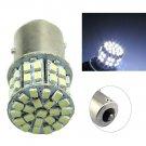 2x Ba15s 1156 White Car Rear Turn Light Signal Ultra-bright 50 SMD LED Bulb 12V