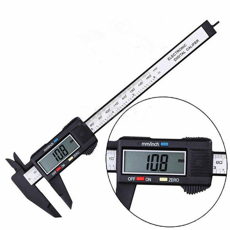 Digital Electronic Gauge Vernier 150mm 6inch Caliper Micrometer