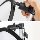 2pcs Portable Studio Background and Reflector Disc Holder Clip for Stand