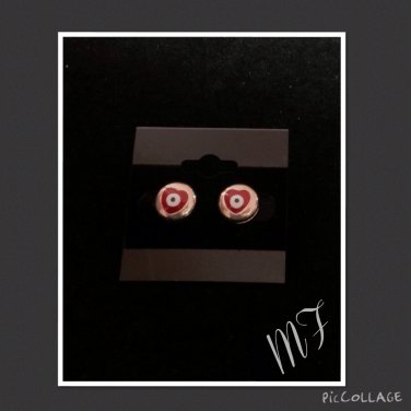 """""""Eyes of Passion"""" fashion studs"""