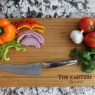 Personalized Cutting Board 11 x 17 Bamboo – Carter Style