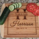 Personalized Cutting Board 11x13 Bambo - Harrison Style