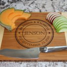 Personalized Cutting Board 11 x 14 Bamboo – Jenson Style