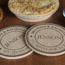 Personalized Large Kitchen Hot Pads - Set of 2! - Jenson Style