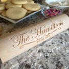 Personalized Rolling Pins - Hamilton Style
