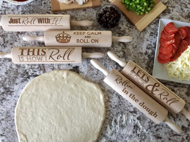 Rolling Pins - Rollin' Collection! 5 Fun Designs