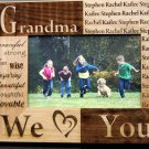 Personalized Mom/Grandma/Nana Photo Frames