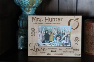 Personalized Teacher Photo Frames